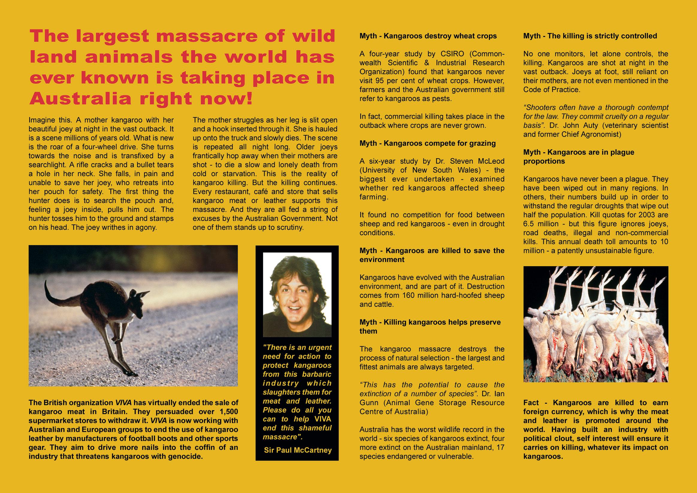 AFC - 06/26/03 Save the Kangaroos