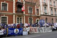 Zagreb demo against the seal slaughter 1