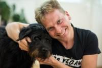 Luka Oman i pas Branimir iz Dumovca - foto: Hina / Ante Gudelj