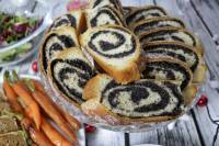 Poppy sead scroll loaf