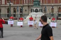performans u Beogradu - budućnost je bez uzgoja radi krzna