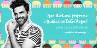 Igor Barberic priprema cupcakes na ZeGeVegeu
