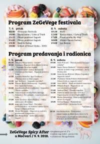 program 11. ZeGeVege festivala