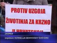 Report about the protest in Prime time news of Croatian National Television - 1.760kn wmv [ 1.77 Mb ]