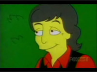 Paul McCartney in The Simpsons