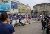 Zagreb demo against the seal slaughter 26 [ 100.07 Kb ]