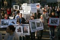 Demo against animal transport 2009. [ 601.35 Kb ]