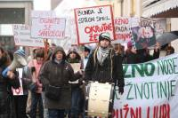 Demo against fur in Osijek [ 108.28 Kb ]