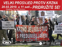 Zagreb anti-fur demo 2010 [ 238.17 Kb ]