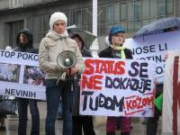 Demo against fur in Zagreb 2010 [ 420.57 Kb ]