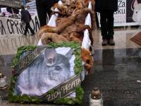 Demo against fur in Zagreb 2010 [ 496.09 Kb ]