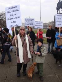 Protest for the implementation of the Animal Protection Act 11 [ 119.24 Kb ]
