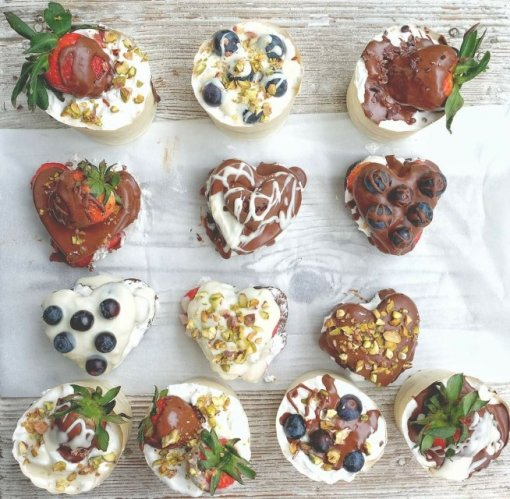 Heart shaped muffins _ Nikolina Badrov [ 146.12 Kb ]