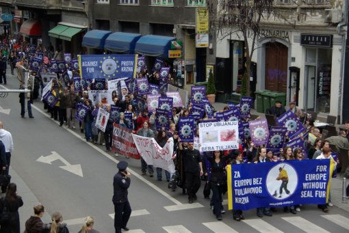 Zagreb demo against the seal slaughter 9 [ 155.45 Kb ]