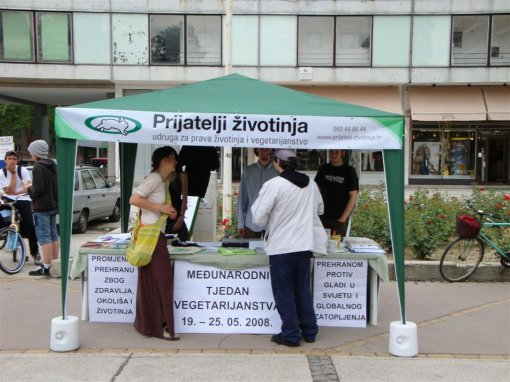 World Vegetarian Week in Osijek 1