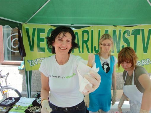 World Vegetarian Week in Zagreb 2