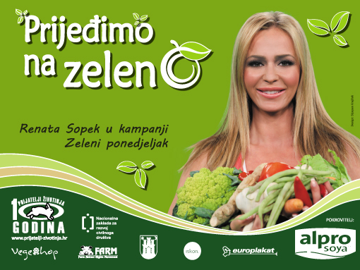 "Renata Sopek in campaign  ""Green monday"" [ 164.89 Kb ]"