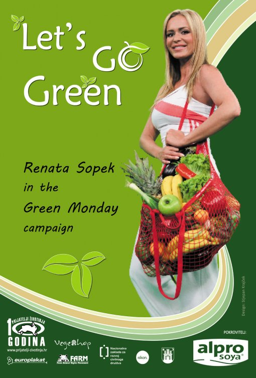 Renata Sopek in the Green Monday campaign eng 2 [ 841.27 Kb ]