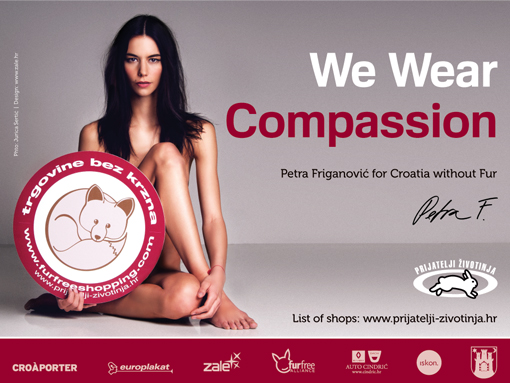 Petra Friganovic for Fur free retailer [ 331.59 Kb ]