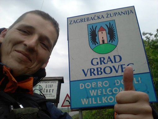 Vedran has arrived in Vrbovec [ 52.67 Kb ]