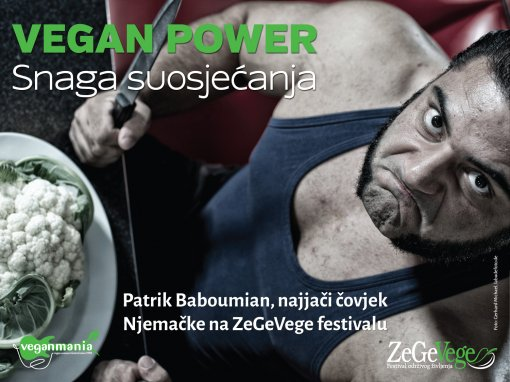 Patrik Baboumian - Vegan Power [ 1.05 Mb ]